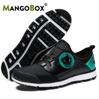 Professionale Golf Shoes Uomo New Grand pelle Sport Sneakers Atletica Golf Boots Mens Walking Formazione scarpe da uomo