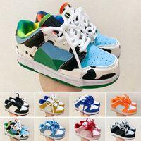 Dunk SB 2018 çocuk Hava Yastığı 90 Koşu Ayakkabıları erkekler kadınlar Için Spor Ayakkabı erkek kız Eğitmenler Sneakers çocuk hava run 90 max90 Eur 28-35
