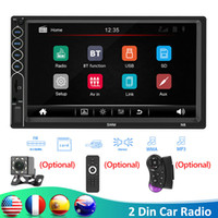 "SWM N6 2 소음 자동차 라디오 7 ""HD Autoradio 멀티미디어 플레이어 2DIN 터치 스크린 스테레오 비디오 MP5 블루투스 USB AUX FM 백업 카메라 자동차 DVD"