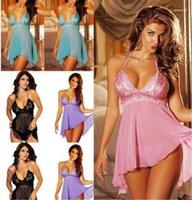 Camisole Designer Sleep Dress Clothing Women Plus Size Sexy Underwear Womens Lace Sexy Low Bosom Pyjamas