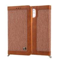 Flip Lanyard Denim PU Кожаный чехол для iPhone 12 11 Pro X XS MAX XR CAELET CARD CARDER CARE для iPhone 7 8 Plus Fundas