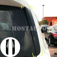 Für Nissan Patrol Y62 Schwarz Heckscheibenspoiler Seitenflügel Trim-Abdeckung 2010-2018