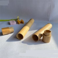 Tubo de cepillo de dientes de bambú Caja de recipiente Caja de madera Caja de madera Accesorios de baño Viajar Suministro de hoteles al aire libre Venta caliente 5 2xl C2