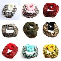 Designer Scarf 9 di stile della stampa del leopardo della sciarpa di inverno calda lana lavorato a maglia Sciarpe con il marchio sciarpa XD23988