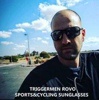 Горячая продажа спортивный 9266TRIGGER ROVO поляризованные очки Мути-цвета HD UV400 PC качество линзы легкий TR90 рама полный комплект случай унисекс