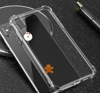 Transparent Soft TPU Protection Phone Cases Back Cover Capa ...