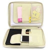 Jonvon Satone multifuncional A4 Arquivo Bag Zipper portátil Desk Acessórios para escritório Organizador Escritorio Desk Organizer CX200822