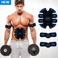 muscolare Trainer ab stimolatore di dimagramento addominale toner massaggiatore ultimo stimolatore muscolare Body Building ABS cinghia SME forma fisica ab