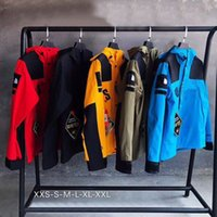 Mens Nord tuta sportiva Cappotti Designer casuale freddo Alpinismo Abbigliamento Uomo Marca T- fitness Per Nero Giallo Rosso