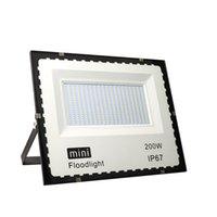 MINI LED Floodlights 10W 20W 30W 50W 100W 150W 200W Ultrathin Outdoor Flood Lights AC 85-265V