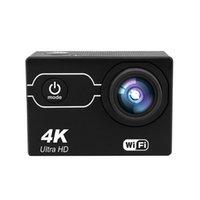 4K 30fps 1080P Caméra d'action Wifi Hd 5MP Casque Cam étanche 2.0 pouces IPS Sn Sports caméra