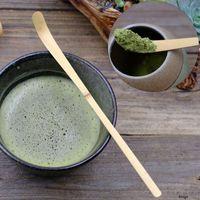 Церемония Экологичного бамбук чай совок из бамбука Матч Ложка Творческого Матча Кофе Чая Ложка Чая Аксессуары Матч Ложка BH3225 такой анкеты