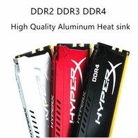 2pcs Fury Hyper Memory dissipateur de chaleur PC Mémoire en aluminium dissipateur de chaleur en aluminium RAM clip
