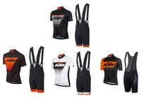 2021 KTM cycling team jersey 19D bike shorts set Ropa Ciclis...
