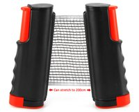 Table Tennis Nets Posts Newest Retractable Table Tennis Ping...