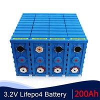 YENİ 4PCS 3,2V 200AH hücre CALB SE200FI LiFePO4 şarj edilebilir piller 12v 24V için EV RV güneş paketi pil ABD, AB AU Vergisiz