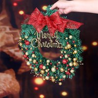 Christmas Wreath Pendant Halloween Thanksgiving Christmas Ho...