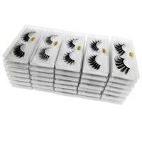 3D Mink Eyelashes wholesale 10 styles Eye makeup Mink False ...