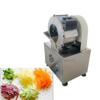 Multi-función de corte automático de la patata máquina comercial eléctrica zanahoria Ginger máquina de cortar triturar cortador de verduras