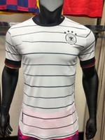 2020 Spielerversion Deutschland Fussball Jersey Retro Deutschland Hummels Kroos Draxler REUS Müller Gotze 20 21 Fußball-Hemd Uniformen Men2