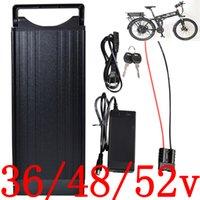 batteria 36V 48V 52V batteria elettrica della bicicletta 10AH 12AH 13Ah 15AH 18AH 20AH 25AH 30AH litio in forma del motore 500W 1000W 1500W 2000W