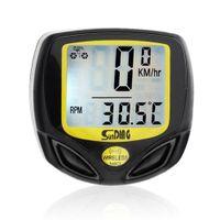 Wasserdichte Fahrrad Tachometer Wireless-Zyklus-Fahrrad-Meter-Computer-Entfernungs Radfahren Fahrrad Stoppuhr Wasserdicht-Computer für Radfahren