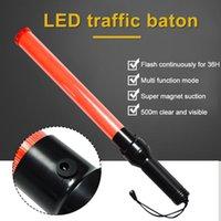 Semaforo Led LED 54cm Glow Hand Safty Stick Wand Indicatore di avvertimento Flash Flash