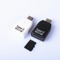 Kartenleser USB 3.0 Typ C auf Micro-SD TF-Adapter für Laptop-Zubehör OTG Kartenleser Smart-Speicherkartenleser