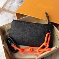 designer de homens bolsa da moeda mulheres senhoras carteira de couro da bolsa carteiras bolsa de moedas correntes chaves luxo designer carteira acessórios mini-pochette