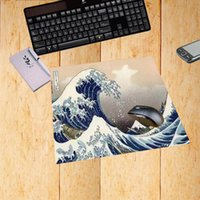 منصات الماوس المعصم تقع mairuige اليابانية ukiyoe kanagawa اللوحة موجة كبيرة الألعاب ماوس الفأر لوحة المفاتيح صغيرة الحجم mats22x18 / 25x20 / 25x29