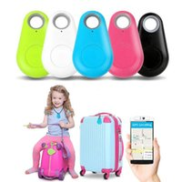 Carteira Hot Mini inteligente sem fio Bluetooth Car Tracker Criança animais Key Finder localizador GPS Anti-Lost alarme de lembrete para telefones