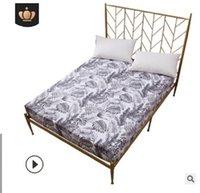 2020 la vendita calda di alta qualità accessori per la casa Copriletto tessuti biancheria da letto stampata copertura impermeabile letto guarnizione del coperchio del materasso a prova di umidità BQ009