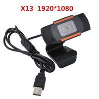 컴퓨터 PC 노트북 20 배에 1080P 풀 HD 웹캠 USB 없음 드라이버 스트리밍 웹 카메라 내장 모델의 마이크 모든 종류의 사운드 흡수