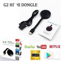 Miracast Google Chromecast 2 G2 Mirascreen اللاسلكية Anycast Wifi عرض 1080P DLNA AirPlay لالروبوت التلفزيون عصا ل HDTV