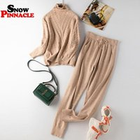 2020 New Women sweater suits track costumes 2 pieces sets Au...