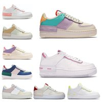 force 1 af1 hommes femmes des chaussures course 1 type ombre Para-noise noir Summit White Mystic Bleu marine Air pâle Ivoire mens formateur mode sport baskets