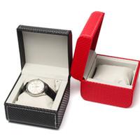 Часы ящики Case Luxury Car Line PU коробка Ювелирные изделия Часы хранения моды упаковочные подарок Саат Кутусу Буйтен Монте с подушкой подушки
