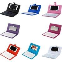 لوحة المفاتيح بلوتوث مع حقيبة كابل متعدد -Function المحمولة لوحة المفاتيح اللاسلكية الرئيسية مكتب سفر الأعمال PC الهاتف اللوحي لوحات المفاتيح CGY650