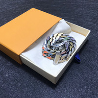 Melhor venda moda colar homens e mulheres colar na moda colar selvagem de alta qualidade declaração de aço de titânio de aço enviar caixa