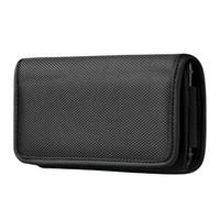 Cassa del telefono cellulare del sacchetto orizzontale universale di 50pcs per iPhone 11 Pro 7 8 XS XR Samsung LG Moto Cases portando la copertura della tasca della vita