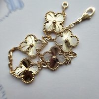 Excelent quality flower with five flower nature stone pendan...