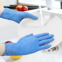Entrepôt Usine de gros à usage unique Gants nitrile avec qualité alimentaire Garde main Ménage Cuisine Nettoyage et étanche EEA2036