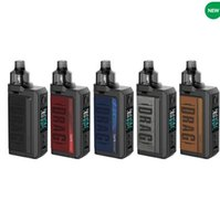 Voopoo Drag Max 177W TC Kit E sigaretta Dual Dual 18650 Batterie VAPE MOD compatibile con tutte le bobine PNP Originale