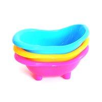 الهامستر حمام حوض متعددة الوظائف الهامستر المرحاض غرفة دش مصغرة حمام الرمال حوض الاستحمام صغير الحيوانات الأليفة تنظيف أداة بلاستيكية مستلزمات الحيوانات الأليفة