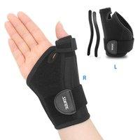 Регулируемого запястье Thumb Рука поддержки Brace Splint Растяжение артрит Пояс боль для пальца руки защиты Растяжение держателя