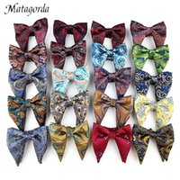 Moda 13 * 11cm Paisley fiore corno del bue di papillon Wedding Party Big Bowties per le donne festa di nozze Mens Groom farfalla
