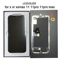 Высококачественный ЖК-дисплей OLED для iPhone X XR XS XSMAX 11 11PRO 11PROMAX Дисплей 3D Digitizer Сенсорный экран Сборка 100% Тестируемая TFT CONSEL OLED