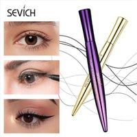 Sevich 2 colori colorato di lunga durata Eyeliner Penna liquida impermeabile nero Matita Occhi Eyeliner liscio Strumenti eyeliner di trucco