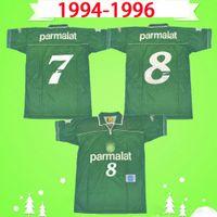 1999 PALMEIRAS Retro Soccer Jerseys 99 home green vintage Camiseta de futbol chemises de football classiques top qualité thaï Maillots de foot