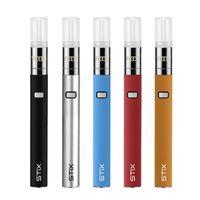 Original Yocan Stix Vape Saft Stift Elektronische Zigarettenkit Tragbare Verdampferstarter Variable Spannung 320mAh Batteriekeramikspule